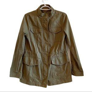 Banana Republic classic utility jacket army green